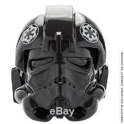 Tie Fighter Pilot Anovos Helemt Star Wars Collectible Helmet