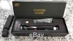 Ultimate Works Custom Qui-Gon Lightsaber, Color Changing and Sound FX