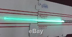 Ultrasabers Prophecy V3 Obsidian Sound Lightsaber Emerald GREEN