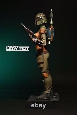 Unique Hentai Sexy Star Wars Boba Fett Lady Fett Mandalorian Exclusive Sculpture