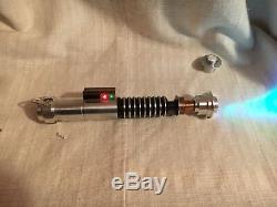 Vaders Vault Luke Skywalker Hero Saber Return Of The Jedi Installed