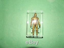 Vintage 1977 Star Wars Lili Ledy Hong Kong C3PO Golden! AFA 60! RARE