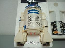 Vintage 1977 Star Wars Radio Remote Controlled Kenner R2-d2 Complete Box Papers