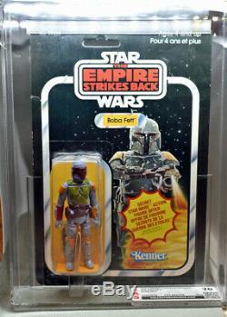 Vintage 1980 Star Wars Esb Boba Fett 21-back Csa 70 Unopen Canadian Kenner