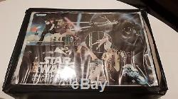 Vintage Star Wars Action Figures with Collection Case