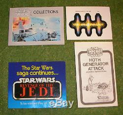 Vintage Star Wars Kenner Micro Collection Action Playset Hoth Generator Attack