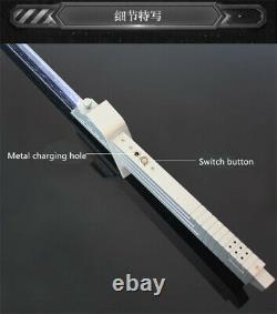 YDD Star Wars Vizsla Darksaber 11 Lightsaber Metal Handle Original Sound Reprod