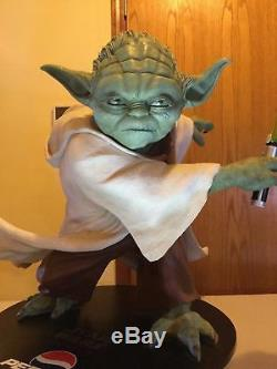 Yoda Statue (Pepsi) Limited Edition Life Size Episode 3, 70 lbs, 44 Tall